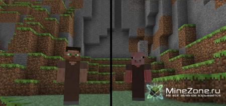 [1.2.5] Human Villagers! v1.5