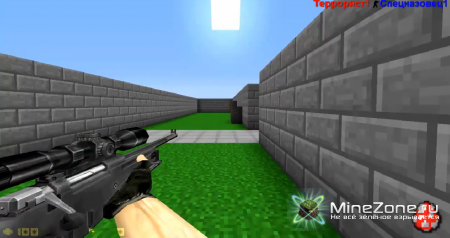 Counter Strike in MineCraft