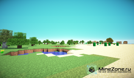 [1.3.2] Flatlands Extension v1.4 with BIOMES and NETHER FLATLAND