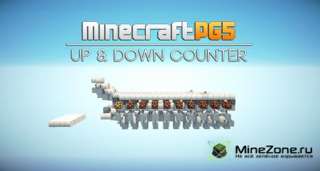 [minecraftpg5]Up & Down Counter with Reset - Minecraft
