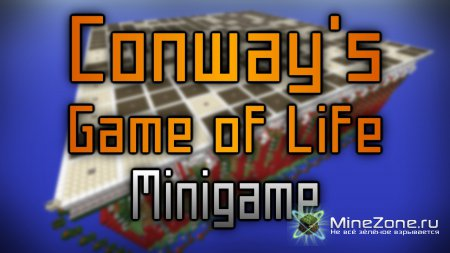 Conway's game of life in minecraft
