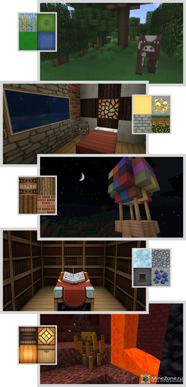 1.3.1] [64x] Soartex Fanver - HD Smooth Texture Pack!