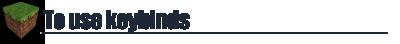 [1.4.5] MACRO / KEYBIND MOD 0.9.6 + LITELOADER