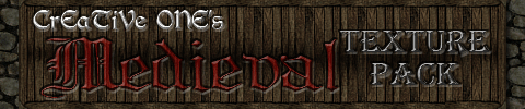 [64x][1.3] CrEaTiVe_ONE's Medieval pack v7