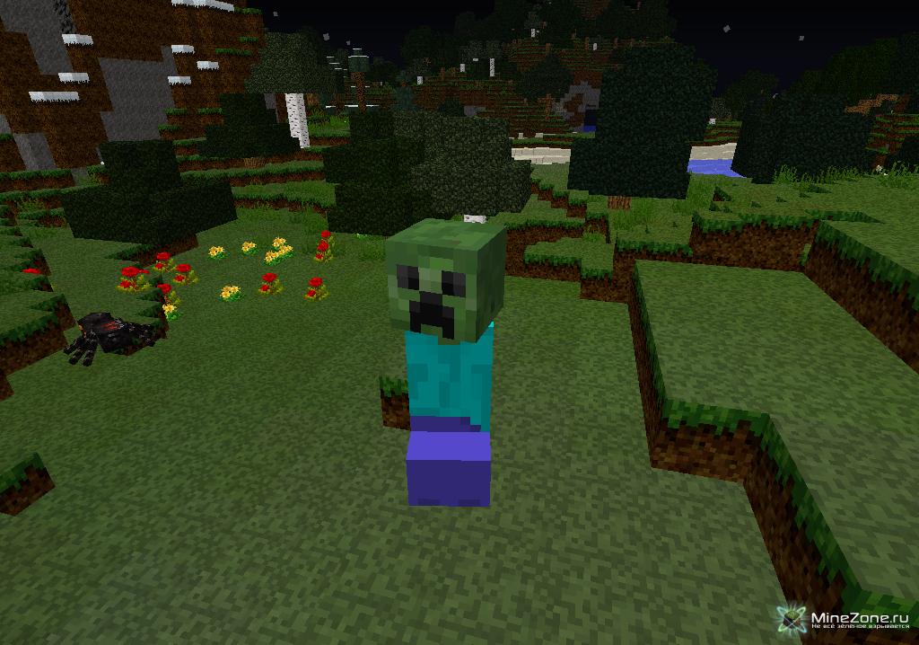Mo'Zombies! - Мод на зомби для Майнкрафт 1.7.10/1.7.2