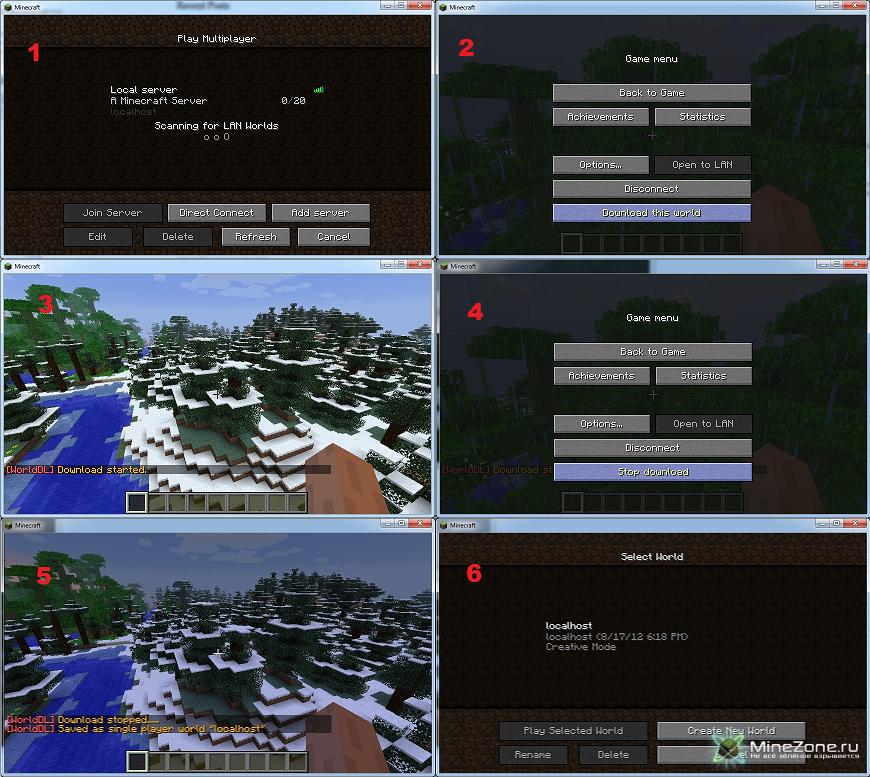 [1.3.2] World Downloader Mod v3