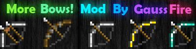 [1.3.2] More Bows! Mod v2