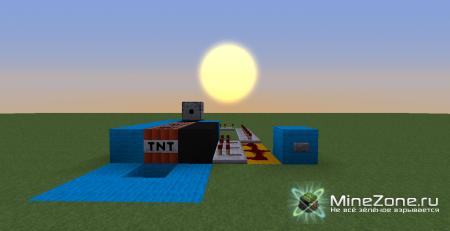 [Туториал] Пушка, стреляющая зельями с помощью TNT