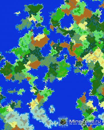 [v2.0.37] AMIDST - Strongholds, Village, Biome Finder