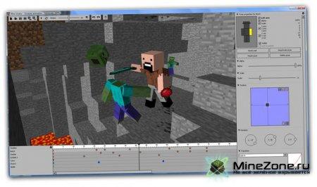 Mine-imator - Создание анимации в MineCraft