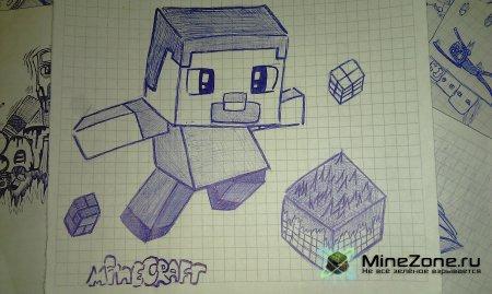 Рисунки на тему MineCraft by Kivvi159 (2 часть)
