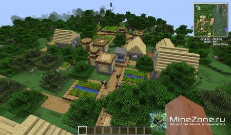 [1.3.2]Biome Village Mod