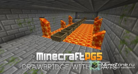 Drawbridge with boats NEW Trick/Bug - Minecraft Tutorial