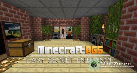 Easy Secret Entrance with Flint & Steel