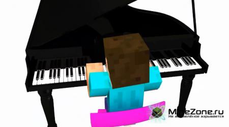 Моя анимация в Minecraft