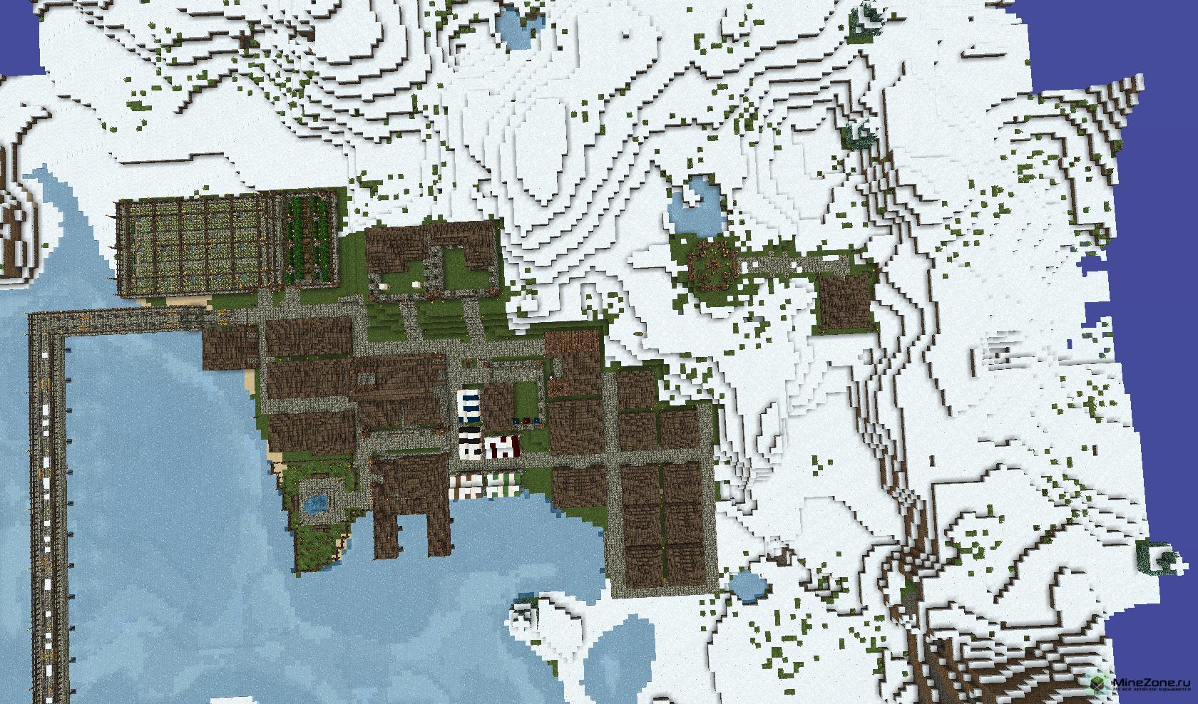 майнкрафт карта мира #10