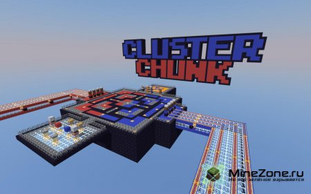 Minecraft Custom Map: Cluster Chunk PvP