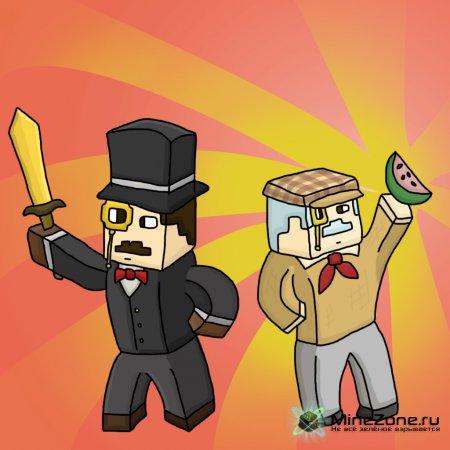 Мои рисунки minecraft #3