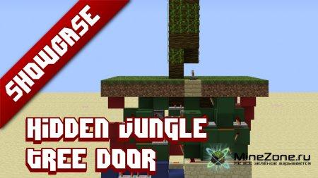 Minecraft Showcase: Hidden Jungle tree door