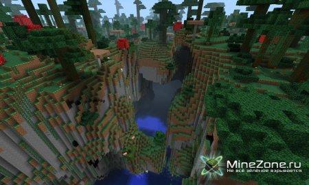 [1.3.2]  Mushroom Forest Mod - Amazing Landscapes!