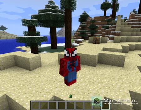[1.3.2] Spider Man Mod