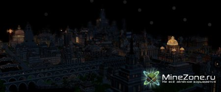 Imperial City at Night - Animated Minecraft Cinematic