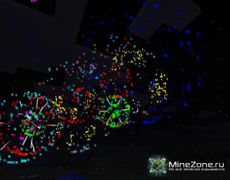 [1.3.2] Hanabi fireworks mod