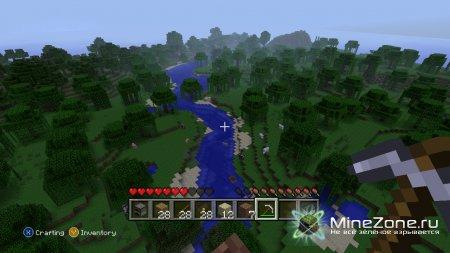 Minecraft Xbox 360 edition обновился!