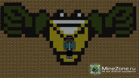 Кодовый замок из повторителей-=[Уроки по Minecraft]=-