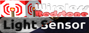 Обзор на Wireless Redstone & LIGHT SENSOR