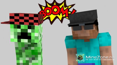 Minecraft Animation | Boom boom boom!!!