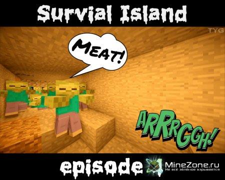 Survial Island 4 эпизод: Шахта зомби!