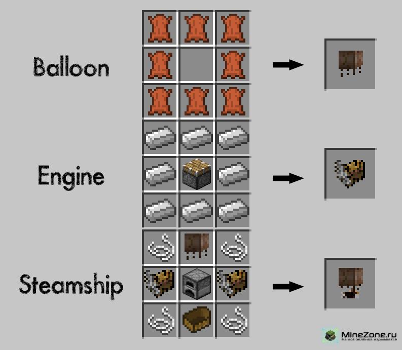 [1.4.6] Steampunk Airships