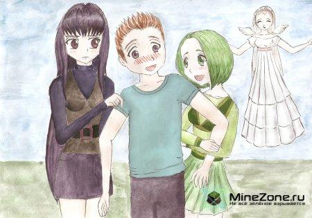 MineCraft Anime-Arts