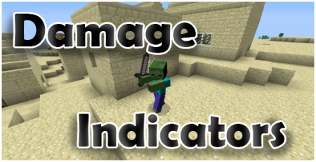 [1.4.7] [FORGE] HIT SPLAT DAMAGE INDICATORS