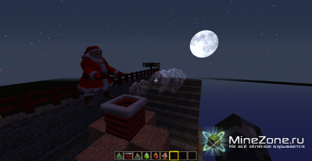 [1.4.6][Forge]Santa 3dMob+ Christmas 3Dmodel!