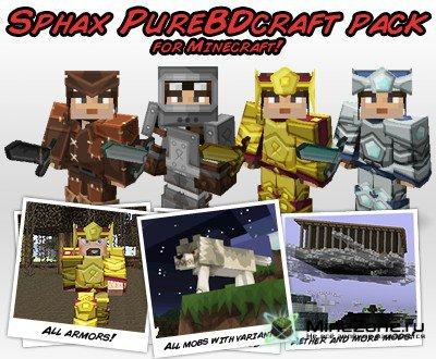 [256x][1.4.*] Sphax PureBDCraft