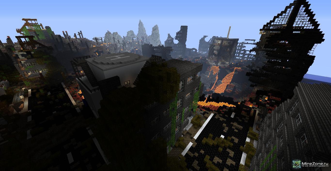 постапокалиптические карты для майнкрафт #4