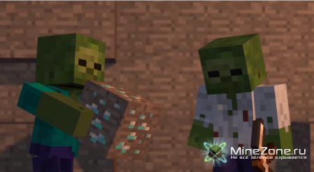 Mining Zombies - A Minecraft Animation