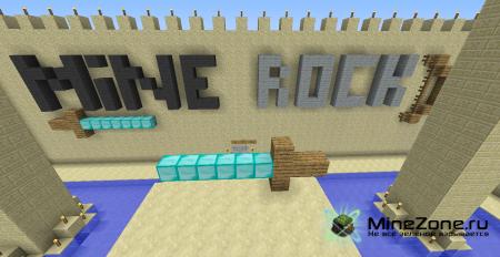 Прохождение карты Mine Rock: Desert Flame