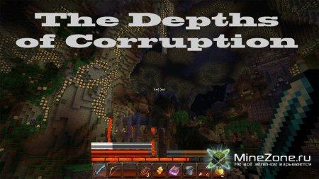 Minecraft и карта на прохождение - The Depths of Corruption - 01