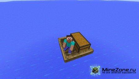 [1.4.6/1.4.7] Chest Boat Mod - Лодки-транспортёры [+ обзор]