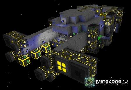 Corneroids - Minecraft в космосе