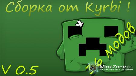 (1.4.7) Сборка модов minecraft от Kyrbi (v0.5)