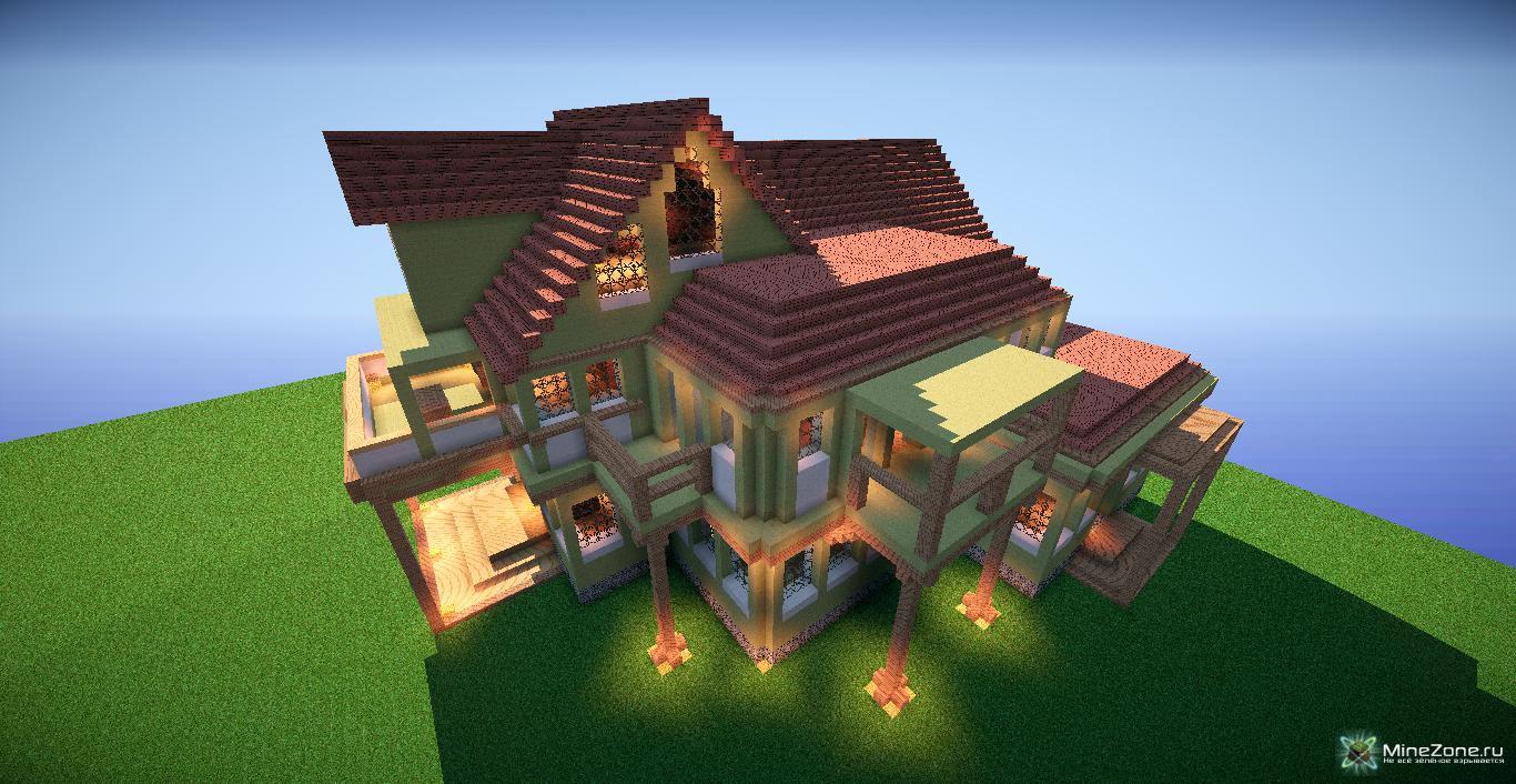 Как сделать гигантский дом 35
