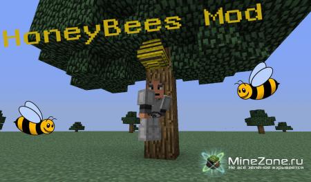 [1.4.7] HoneyBees Mod