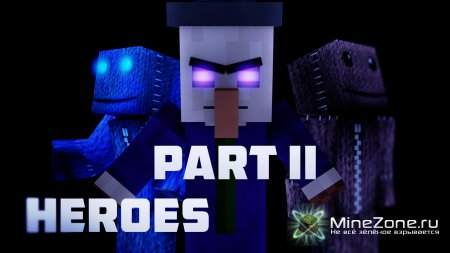 Minecraft Animation | HEROES - Part Two
