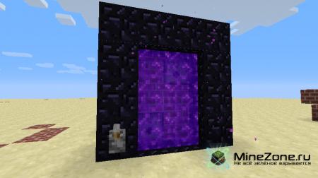 Управляемый портал в ад в 1.5+ [Уроки по Minecraft]