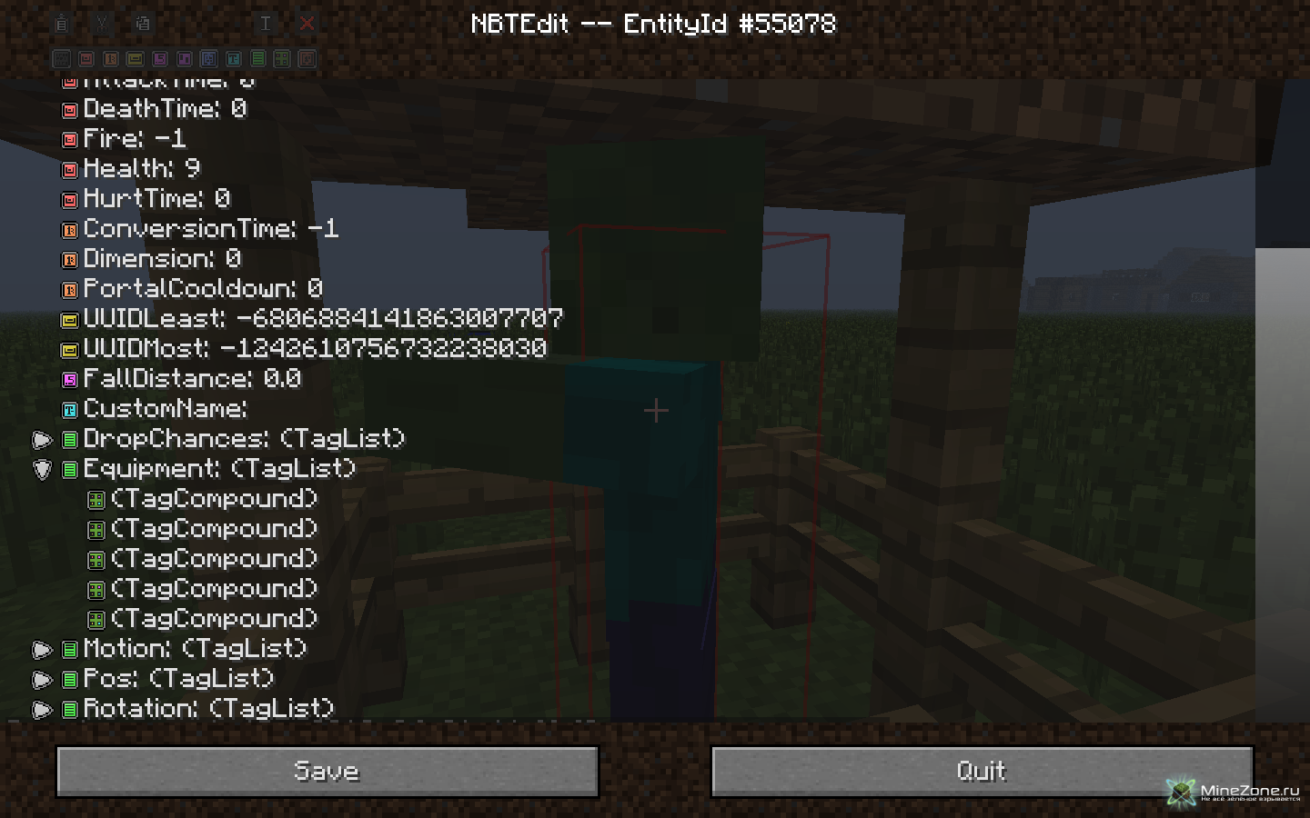 1 5 1 Forge In-game NBTedit - Minecraft Inventory editor