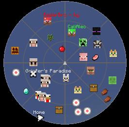 [1.5.2] RADARBRO (GUI MOB/PLAYER RADAR)